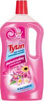 Универсальная жидкость для мытья Tytan концентрат цветочный 1000гр.