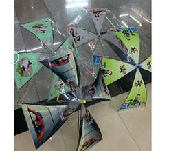 Прозрачный детский зонтик