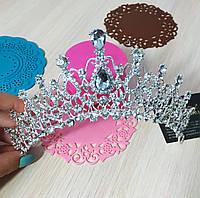 """Шикарная и большая диадема - корона """"Аврора"""" для невесты."""