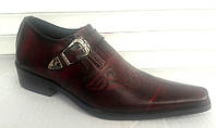 Туфли казаки мужские кожаные Uk0301
