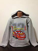 Детская одежда оптом Кофта Тачки оптом 7-8-9-10лет, фото 1