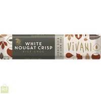 """Шоколад белый органический с рисовым молоком и нугой """"Vivani"""""""