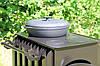 """Печка буржуйка """"Кормилица"""" с конвекцией+ вторичный дожиг печных газов, сталь 4мм - Фото"""