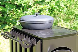 """Печка буржуйка """"Кормилица"""" с конвекцией+ вторичный дожиг печных газов, сталь 4мм, фото 2"""