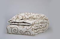 Одеяло из новозеландской овечьей шерсти «Вензели» (лето) 172*205см