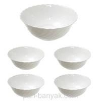 Набор салатников Luminarc Trianon (4*12см; 1*24см) 5 предметов стеклокерамика (J3190)