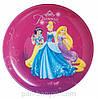 Тарелка десертная Luminarc Disney Princess Royal круглая без борта d20 см ударопрочное стекло (J3992)