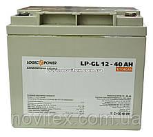 Аккумулятор гелевый Logicpower LP-GL 12V 40AH