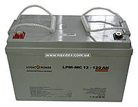 Аккумулятор мультигелевый Logicpower LP-MG 12V 120AH, фото 1