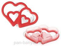 "Форма для печива Silikomart ""серце"" 14х9,6 см h2,5 см (ACC077/С)"