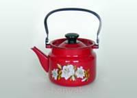 Чайник Керчь  красный 2л емаль (42715-103/6)