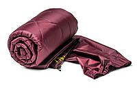 Спальный мешок туристический  (бордо)