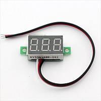 Цифровой вольтметр 4,5 – 30 В LED измеритель вольтажа