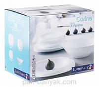 Carine White Сервиз столовый 19 предметов стеклокерамика Luminarc