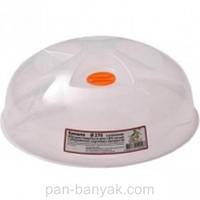 Крышка для СВЧ Еталон-С  с клапаном d27 см h10 см пластик (140047)