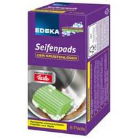 EDEKA Губки для посуды пропитанные Seifenpads 8 шт.Германия