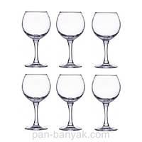 Набор бокалов для вина Luminarc French Brasserie 6 штук 280мл d6 см h16,5 см стекло (H8170)