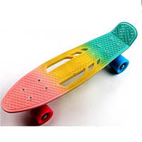 Пенни борд Penny Board Classic Tricolor Pastel