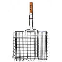 Решетка для барбекю 40х30 см h7 см метал Скаут