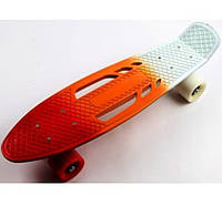 Пенни борд Penny Board Classic Tricolor White
