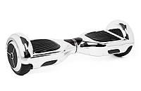 Гироскутер SmartWay U3 хром, серебристый (Гироборд, Smart Board скейт)