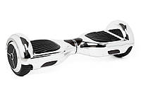 Гироскутер SmartWay U3 хром, сріблястий (Гироборд, Smart Board скейт)