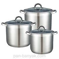 Набор посуды Kamille  6 предметов нержавейка (5801 K)