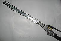 """Насадка """"кущоріз - ножиці"""" Oleo-Mac (61249051) на мотокосу, штанга D=26 мм, 7 шліців, L= 66 см"""