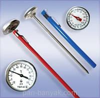 Термометр (-10; +110°c) d2,5 см h13 см Стеклоприбор
