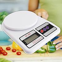 Электронные кухонные весы 7 кг Electronic Kitchen Scale SF-400