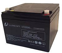 Аккумулятор мультигелевый Luxeon LX12260MG 12V 26Ah, фото 1