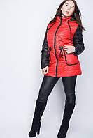 Модная укороченная женская куртка Валенсия, фото 1