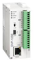 Базовый модуль контроллера серии SE Delta Electronics, 8DI/4DO тр., 24В, Ethernet, RS485, DVP12SE11T