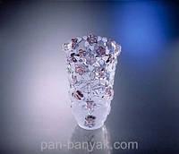 Carmen Rose Ваза для цветов h16 см стекло WG
