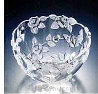 Салатник WG Georgina Satin d24 см стекло (0460)