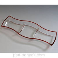 Winx Cherry Red Менажница d41,5 см стекло WG