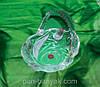 Корзинка WG Nadin Rose d18,5 см стекло (7287)