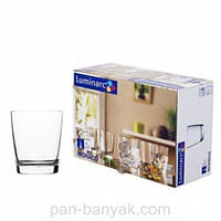 Monaco Набор стаканов низких 6 штук 250мл стекло Luminarc