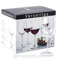 Набор бокалов для вина Luminarc Versailles 6 штук 580мл стекло (1416G/N1011)