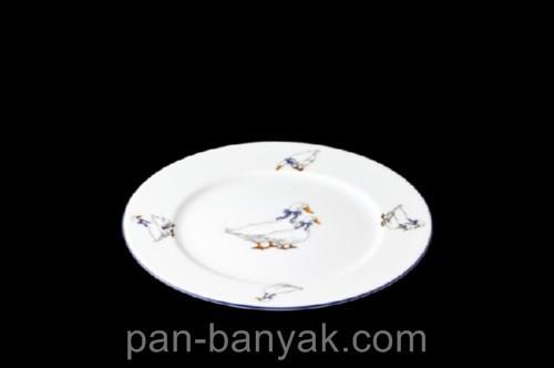 Тарелка десертная Thun Гуси nina d17 см фарфор (P1210097)