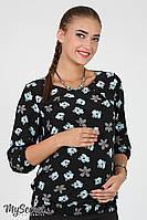 Блуза Joanne для беременных (черный)