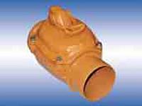 Клапан обратный наружной канализации с ручным приводом