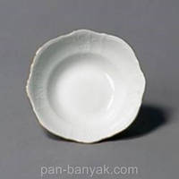 Салатник Thun Bernadotte (Обводка платина) d16 см фарфор (311021М с)
