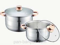 Набор посуды Petergoff  4 предмета нержавейка (15294 PH)