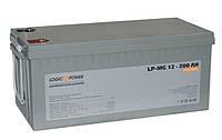 Аккумулятор мультигелевый Logicpower LP-MG 12V 200AH, фото 1