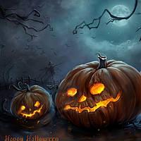 Хэллоуин - декор, маски и пр. товары