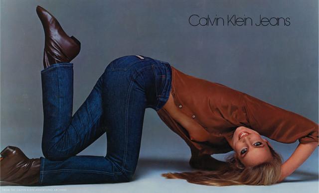 реклама джинс ck