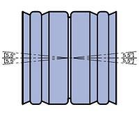 Муфта регулируемая +/- 5,5° двухраструбная наружной канализации