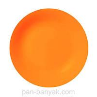 Тарелка обеденная Luminarc Arty Orange круглая без борта d26 см ударопрочное стекло (0114H)