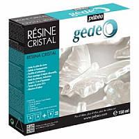 Двухкомпонентная эпоксидная суперглянцевая прозрачная глазурь GEDEO 150мл
